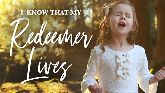 Download Claire Crosby – I Know That My Redeemer lives free mp3 lyrics